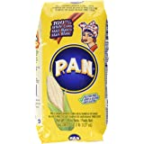 P.A.N. White Corn Meal – Pre-cooked Gluten Free and Kosher Flour for Arepas, 1 Kilogram (35 Ounces / 2 Pounds 3.3 Ounces) (Pa