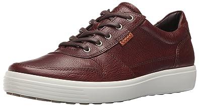 ECCO Men's Soft 7 Retro Fashion Sneaker, Whisky/Lion, 39 EU/5