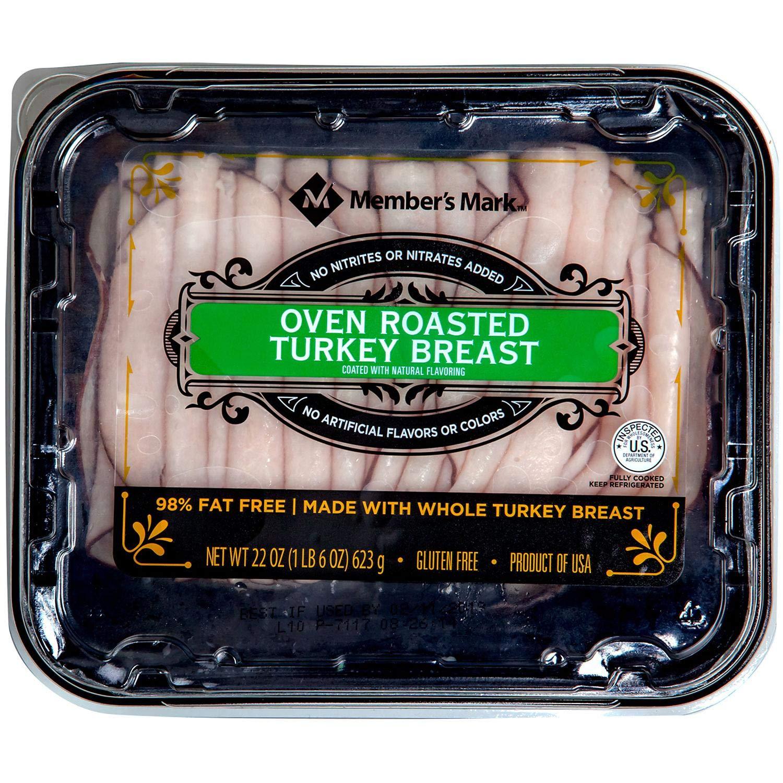Evaxo Oven Roasted Turkey Breast, Sliced (1 pk. / 1.6 lbs)
