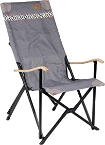 Bo-Camp Urban Outdoor-Camp Chair-Camden, us:one Size, Grey