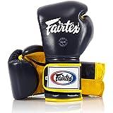 Fairtex Muay Thai Boxing Gloves BGV9 - Heavy Hitter Mexican Style - 10 12 14 16 oz. Training & Sparring Gloves for Kick Boxin
