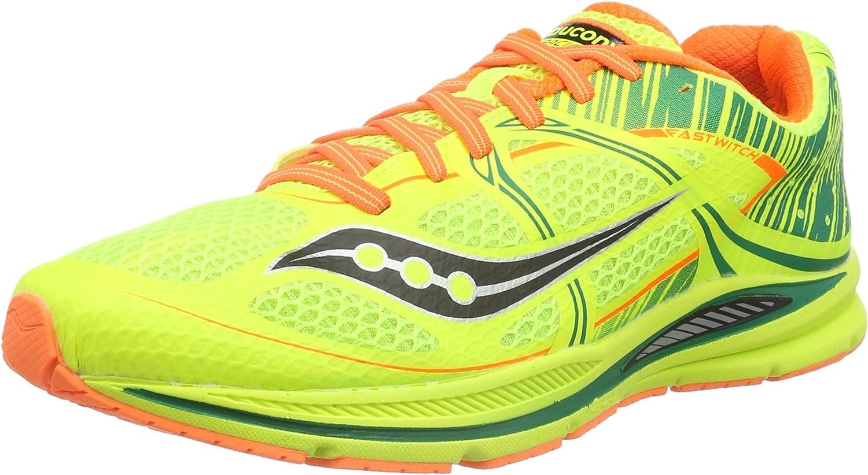 Saucony Fastwitch, Zapatillas de Running para Hombre, Amarillo (Citron/Vizipro Orange), 46 EU: Amazon.es: Zapatos y complementos