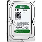 WD HDD 内蔵ハードディスク 3.5インチ 2TB Green WD20EZRX / Intellipower / SATA 6Gb/s / 2年保証