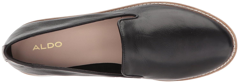 ALDO Women's Stephona Ballet Flat B076DGLZBW 8 B(M) US Black Leather