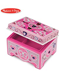 a044e5f2560 Melissa   Doug Decorate-Your-Own Wooden Jewelry Box Craft Kit