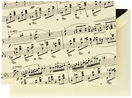 amazon com crane co sheet music note cf1401 office products