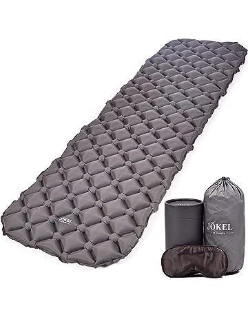 2d3735461b6 JÖKEL Sleeping Mat Ultralight Inflatable Camping Mattress, Comfortable Roll  Mats, Grey Lightweight Compact Air