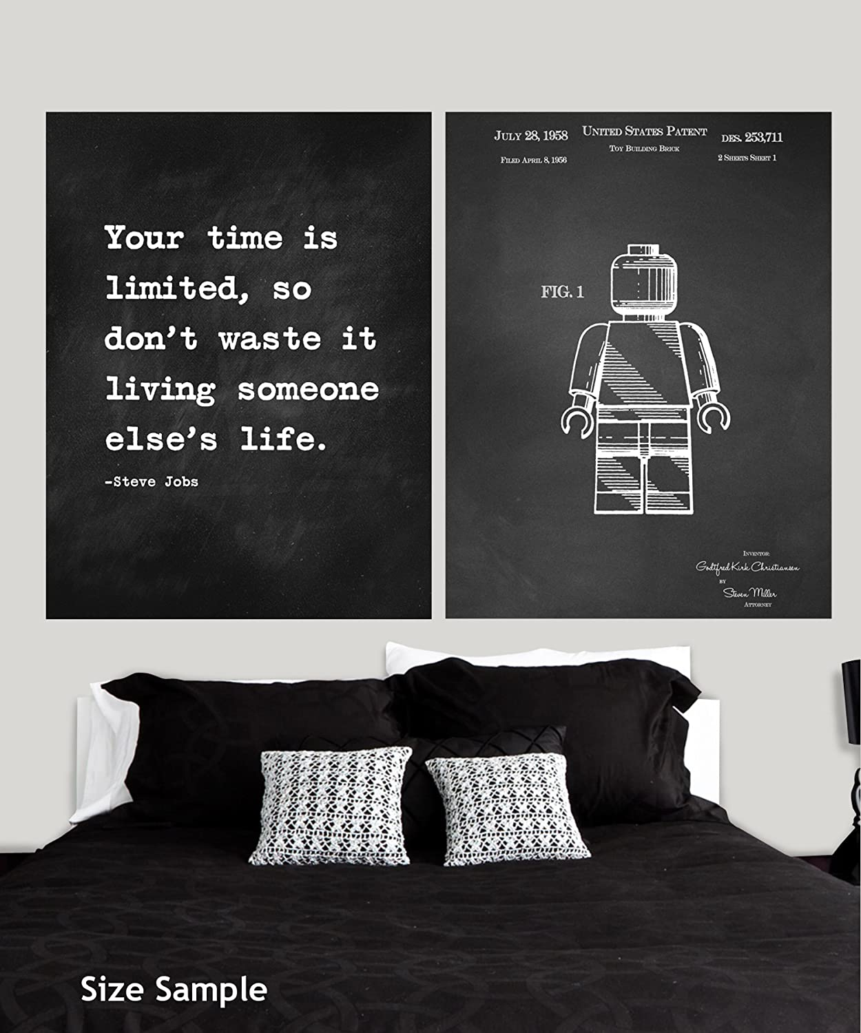 4 x 3 JP London Heavyweight Non Woven Prepasted Removable Wall Mural Motivational Inspiration Sayings Quote Art at 4 3 ft from George Bernard Shaw PMURLTNSP57