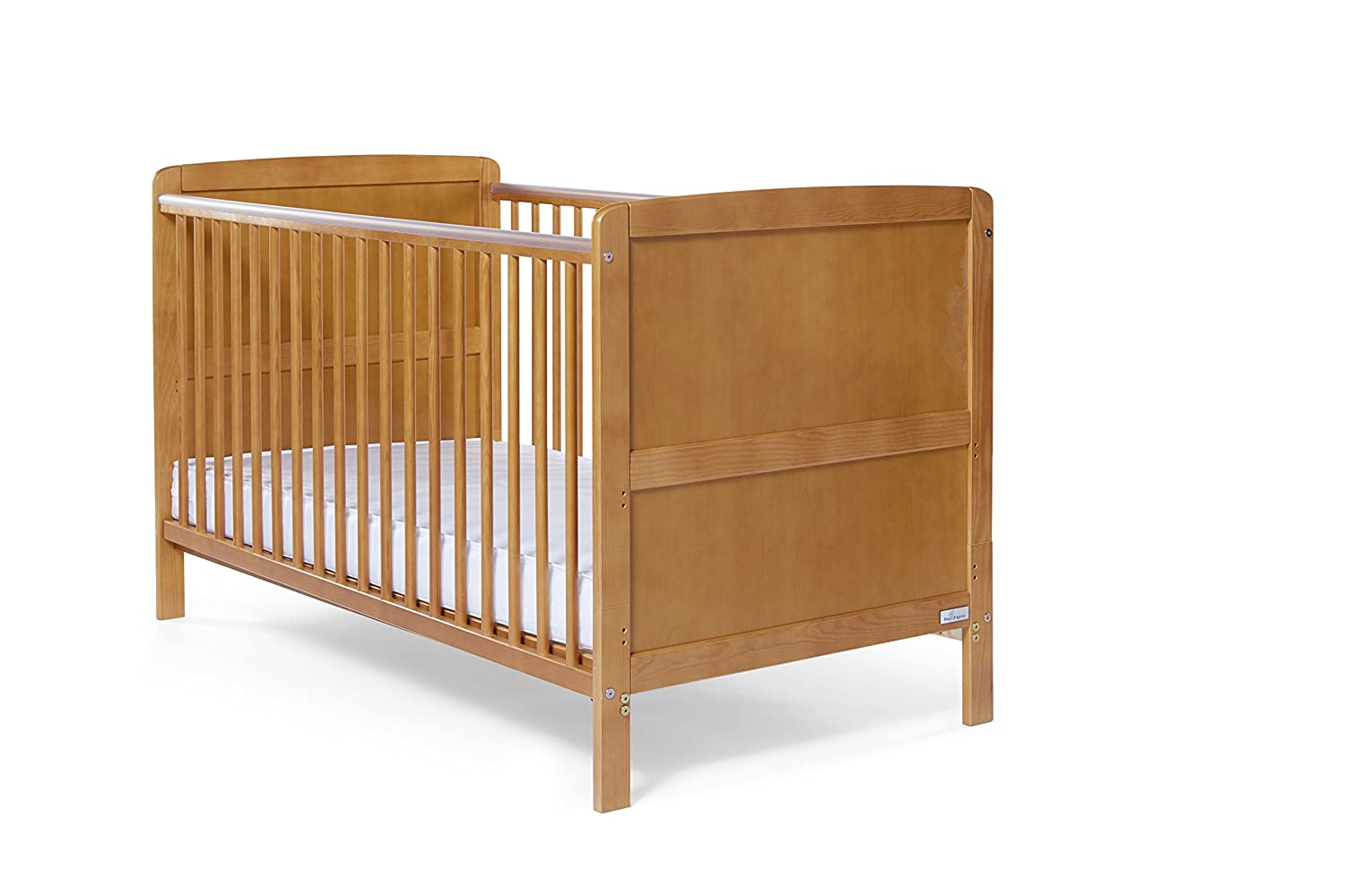 Baby Elegance Travis Cot Bed (Antique Pine) 1327