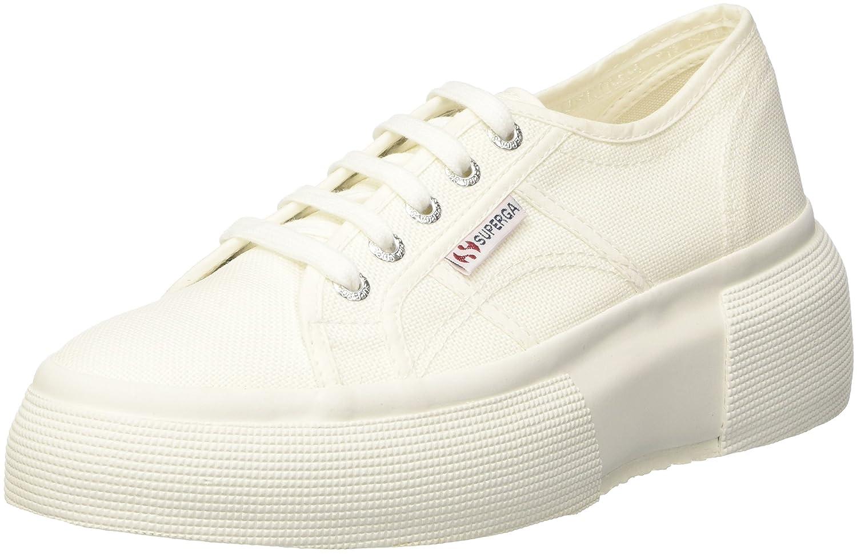 Superga Damen 2287-Cotw Sneaker, Blau 901) Weiß (Weiß 901) Blau 814a54