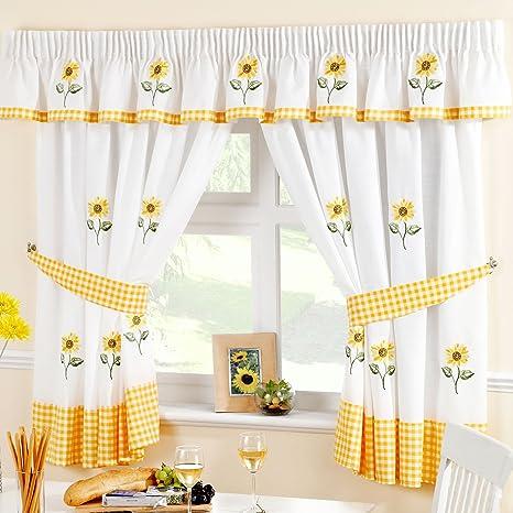 Just Contempo - Juego de cortinas para cocina, diseño de ...