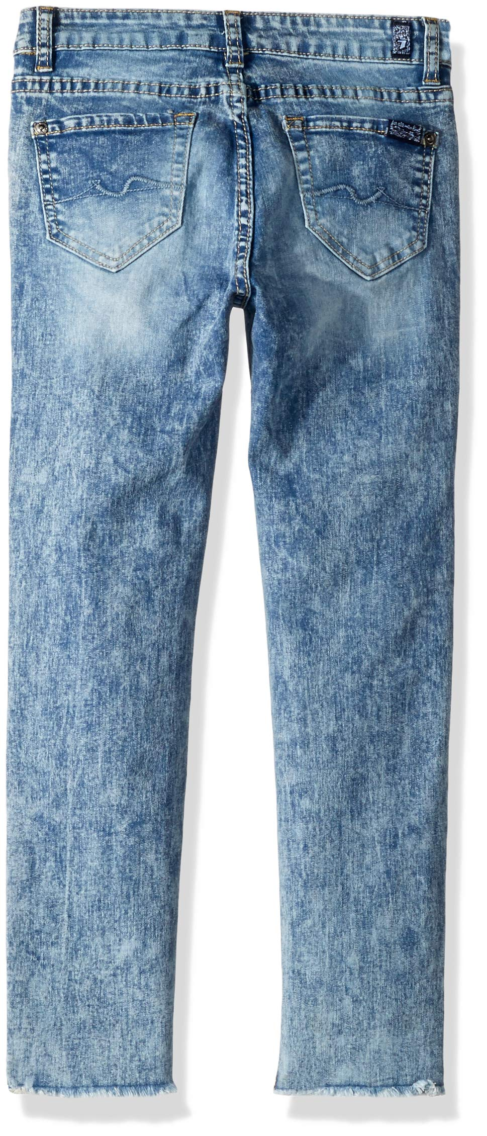 7 For All Mankind Kids Girls' Big Ankle Skinny Stretch Jean, Authentic Sonar 7 by 7 For All Mankind (Image #2)