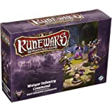 Fantasy Flight Games Runewars Waiqar Infantry Command Unit Expansion Pack Miniatures Game Miniatures Game