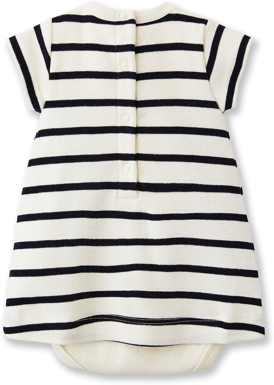 Petit Bateau Sailor Stripe Bodysuit Dress