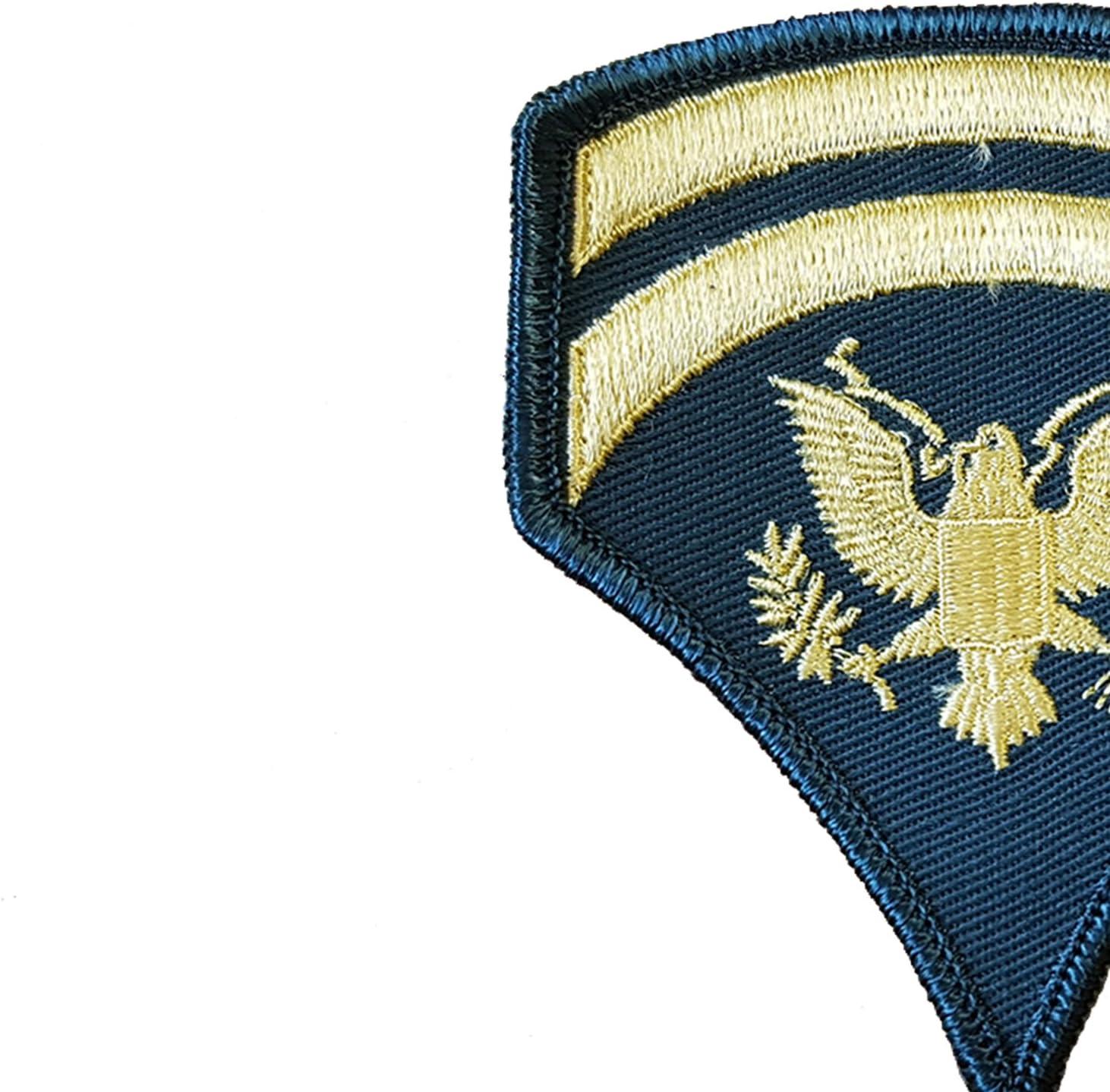 travestimento//indossato da Elvis//top Gun//10,2 x 7,6 centimetri Single Sided for Military Reenactment US Army//badge//grado militare//Sergeant//corpo//panno speciale ricamato patch//replica manica