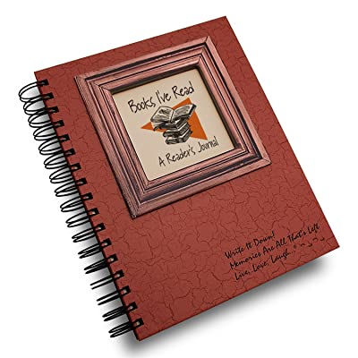 Books I've Read, A Reader's Journal - Coral Hard Cover