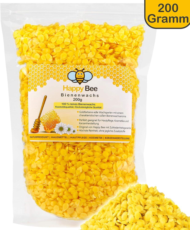 100/% reine Bienenwachs Pellets für Kosmetik Kerzen und Wachstücher//papier gelb