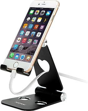 NOPNOG teléfono Celular Soporte Soporte Plegable ángulo Ajustable ...