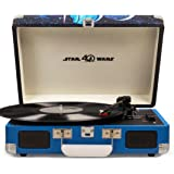 Crosley CR8005D-SW Cruiser Deluxe Portable 3-Speed Turntable with Bluetooth, Star Wars
