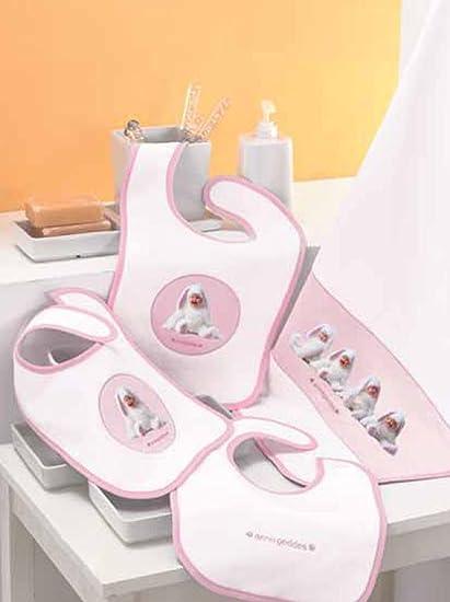Bavaglini Anne Geddes Pink Bunnies 2 pz: Amazon.es: Bebé