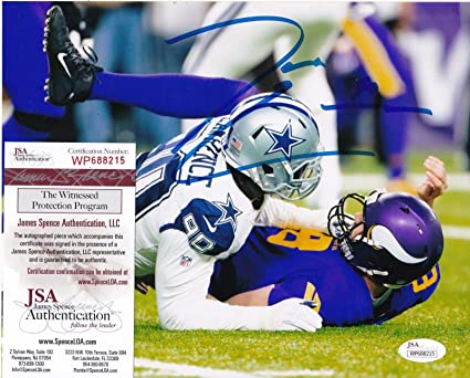 1772aec51 Demarcus Lawrence Autographed Photograph - 8x10 - JSA Certified -  Autographed NFL Photos
