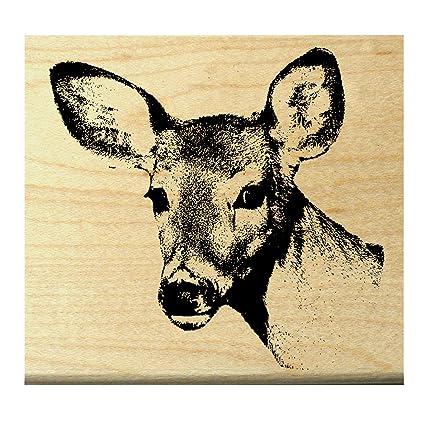 Amazon P9 Deer Rubber Stamp WM
