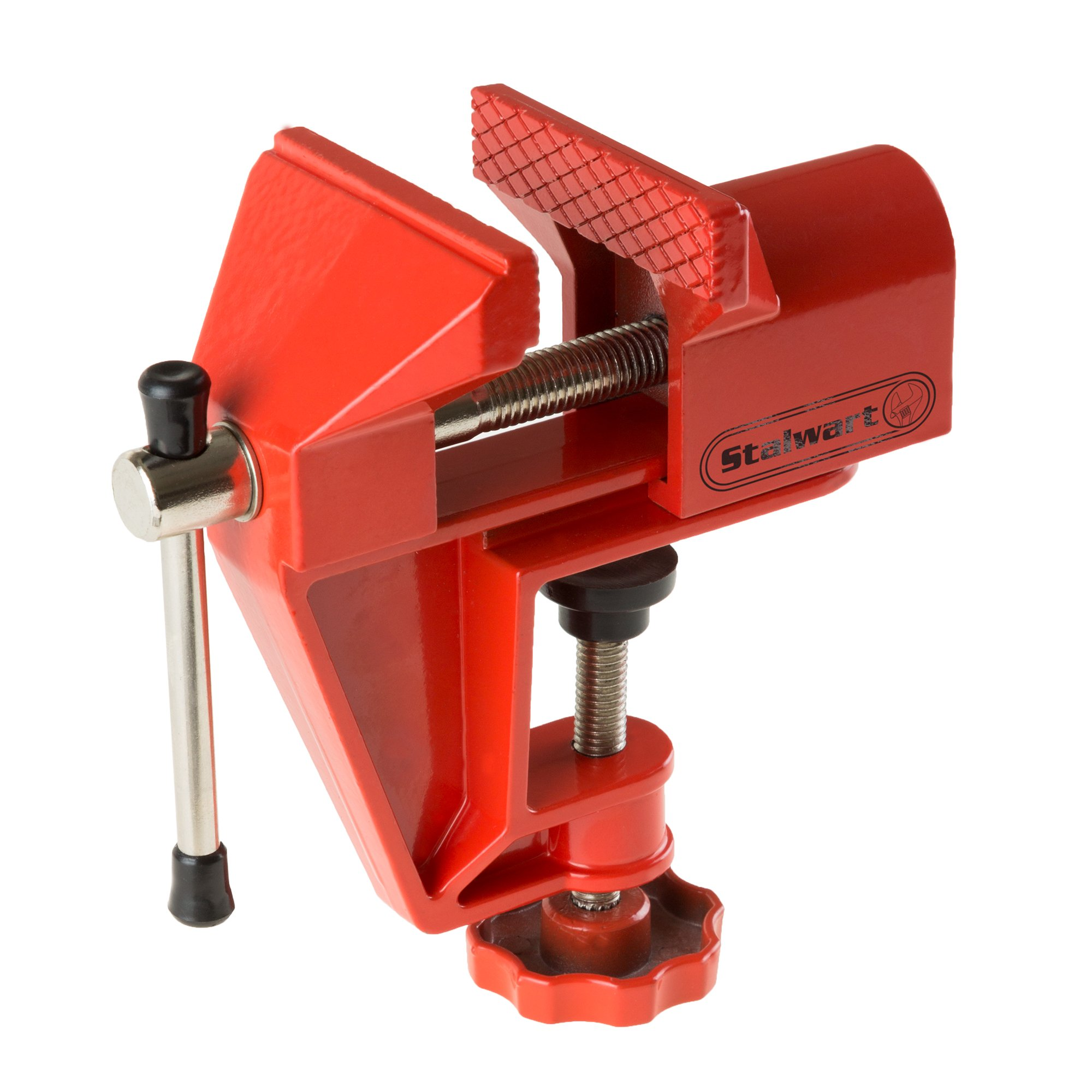 2 Inch Jaw Aluminum Table Vise For Jewelery, Hobby, Electronics By Stalwart