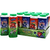12 Fruit Nuggets Mini Bottles Assorted Flavors Kosher Vitamin C Real Juice All Natural Flavors Gluten Free - By Au'some