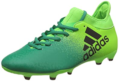 adidas X 16.3 FG Men's Football Boots, Green – (Versol/negbas/Verbas
