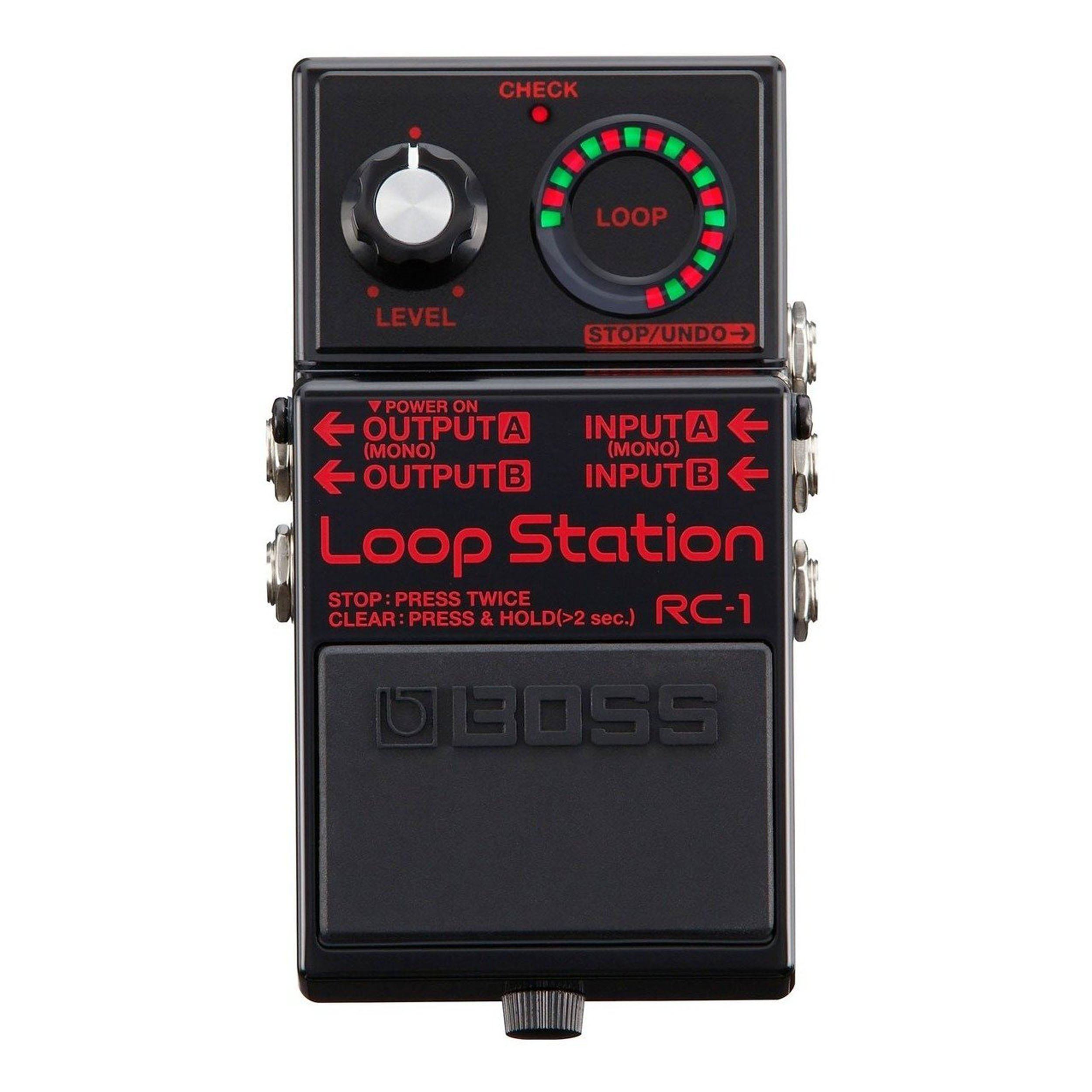 Boss RC-1-BK Loop Station Looper Pedal Black