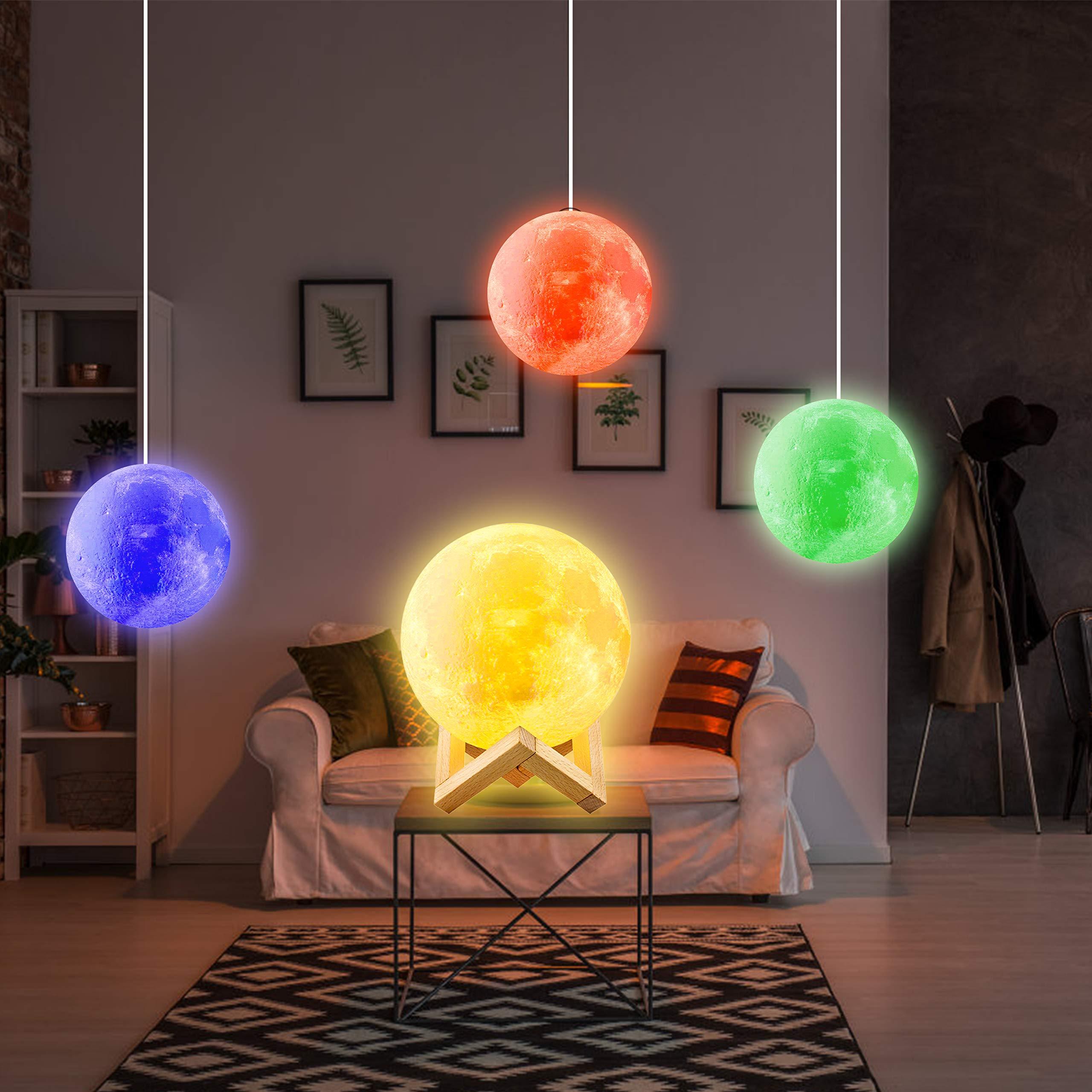 Moon Lamp, 16 Colors Moon Light 5.9\