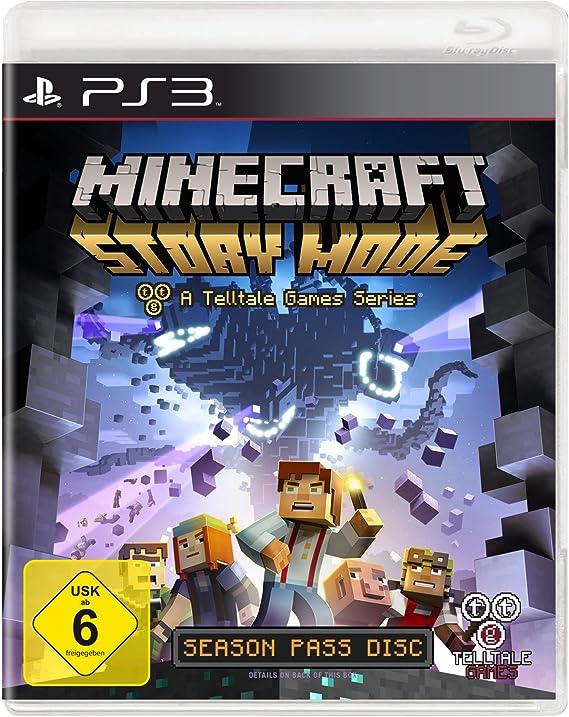 Telltale Games Minecraft Story Mode, PS4 vídeo - Juego (PS4, PlayStation 4, Aventura, E10 + (Everyone 10 +)): Amazon.es: Videojuegos