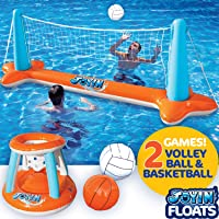 High Quality Plastic Material Water Basketball Volleyball Hand Goal Adult Children Inflatable Swimming Pool Accessories Modern Design Activity & Gear