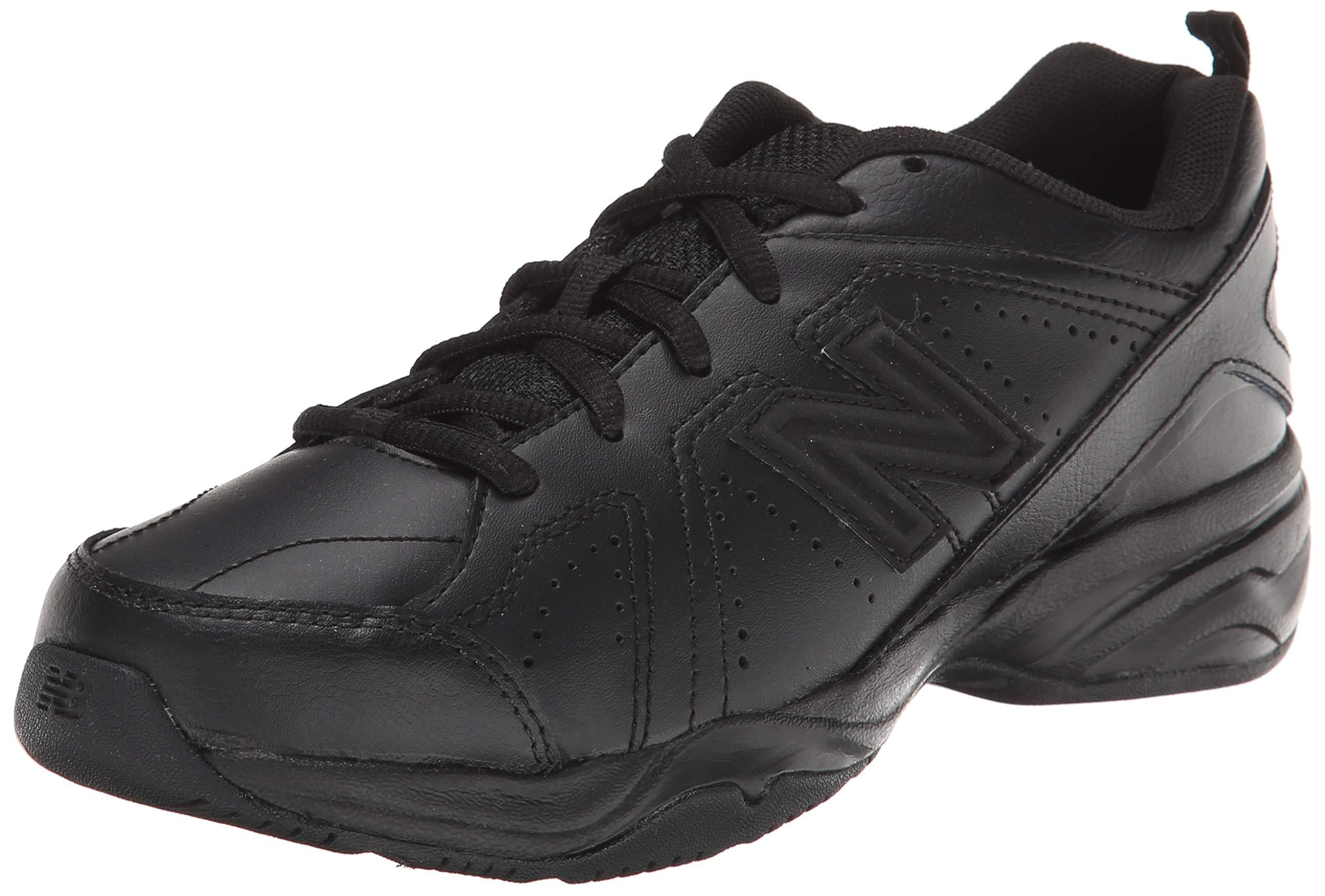 New Balance Boys KX624 Lace-Up Training Shoe ,Black,7 W US Big Kid by New Balance (Image #1)