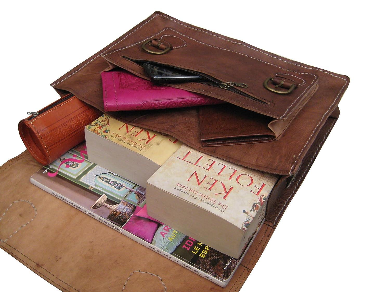 15eb36e3c19a Casami Leather Genuine Briefcase Satchel Shoulder Bag S31  Amazon.co.uk   Luggage