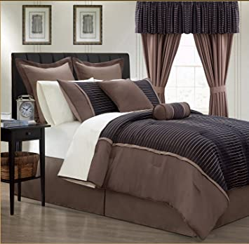 Amazon Com Everrouge Limbo 24 Piece Room In A Bag Queen Home