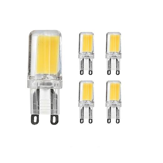 G9 LED, kobos de LED® 5 unidades, (2,5 W equivalente