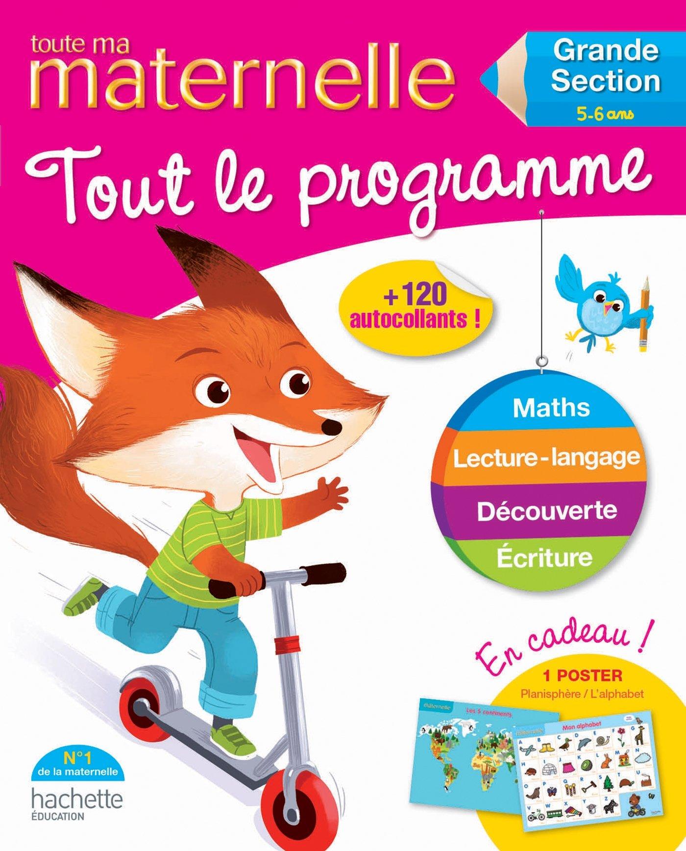 Read Online Toute Ma Maternelle - Tout Le Programme Toute Ma Grande Section (5-6 ANS) (Maternelle Toutes Les Matieres) (French Edition) ebook