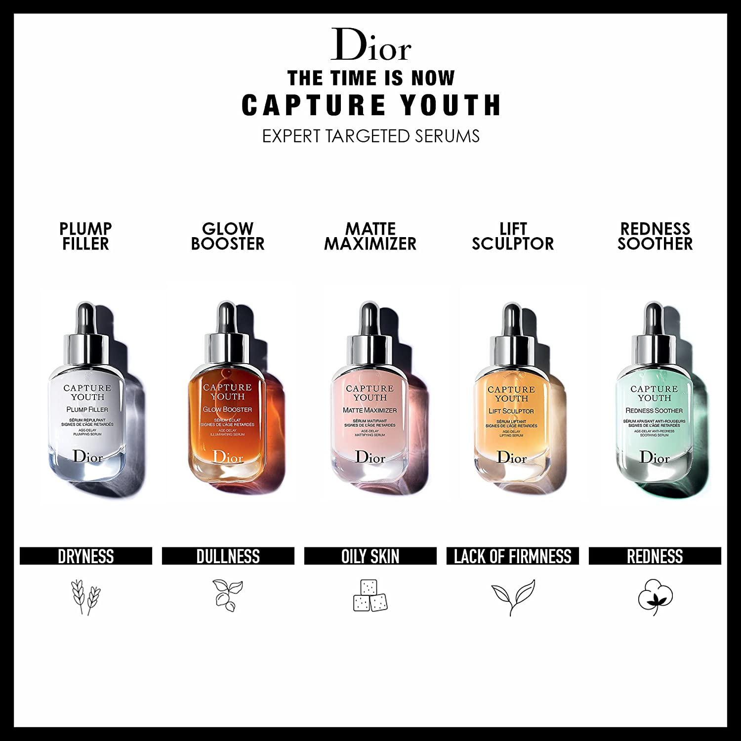 3936fa01af Amazon.com: DIOR Capture Youth - Plump Filler Age-Delay Plumping ...