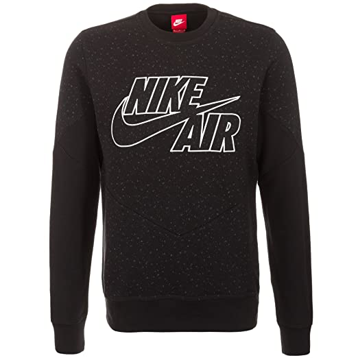 07a1f1591d98dc Amazon.com  Nike Air Crew Sweat Shirt Retro Mens Style   631906 ...