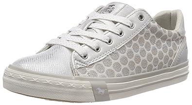 1246-301, Sneakers Basses Femme, Argent (Silber), 39 EUMustang