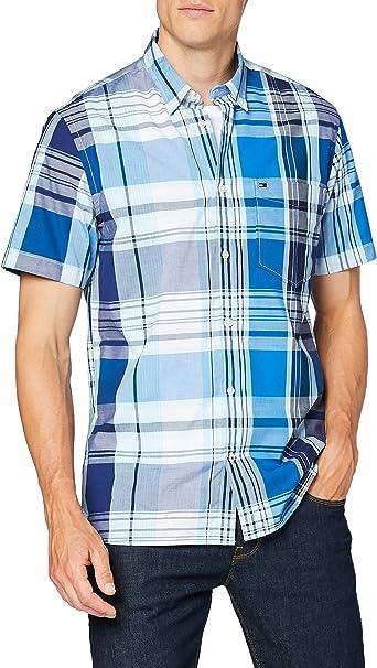 Tommy Hilfiger Madras Check Shirt S/S Camisa para Hombre: Amazon.es: Ropa y accesorios