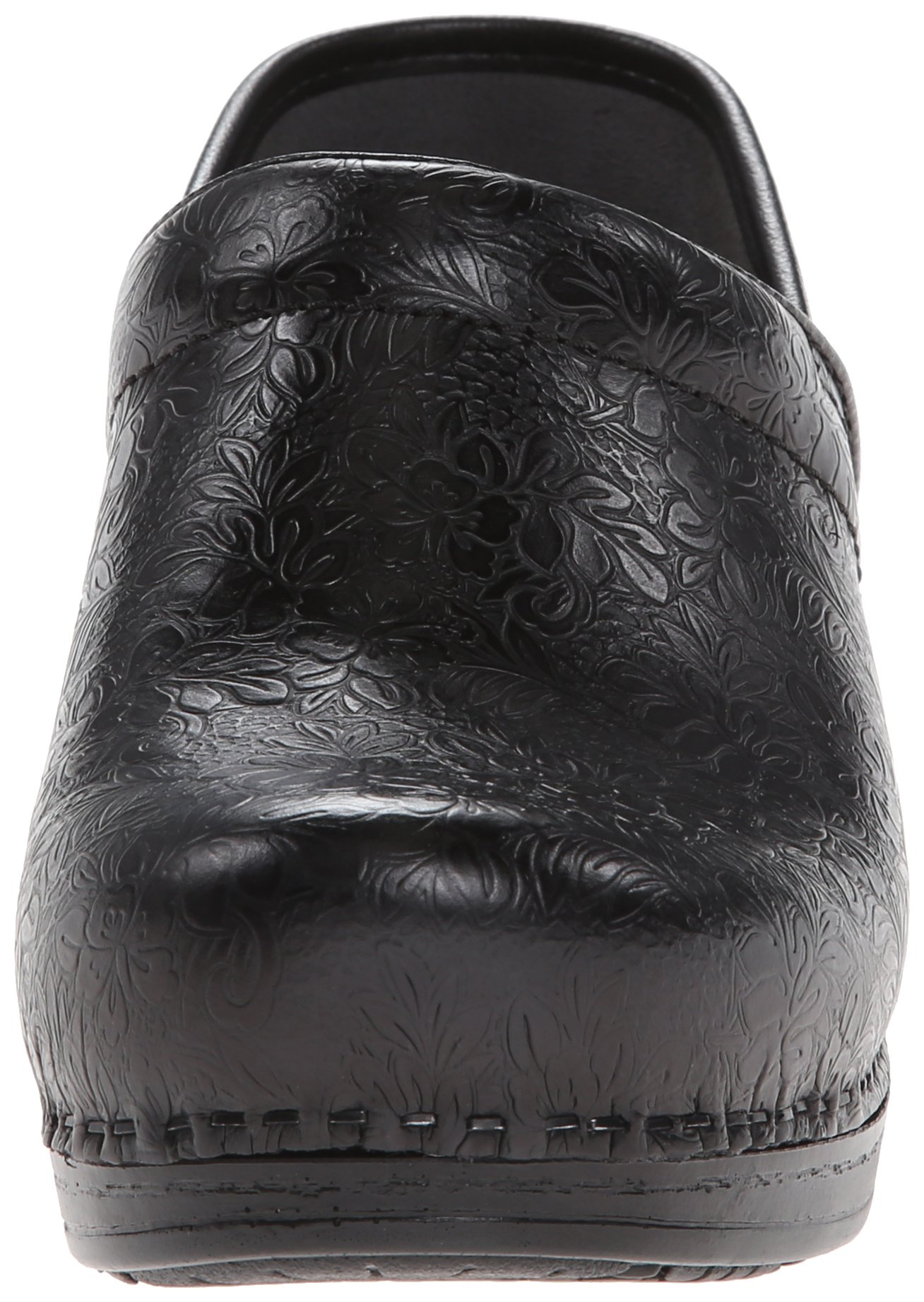 Dansko Women's Pro XP Mule,Black Floral Tooled,39 EU/8.5-9 M US by Dansko (Image #4)