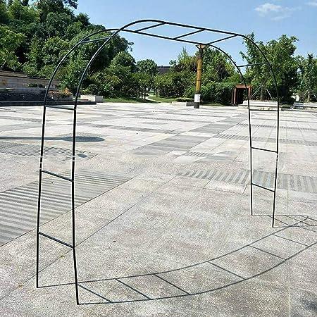 Diy metal boda arco decorativo jardín telón de fondo pérgola ...
