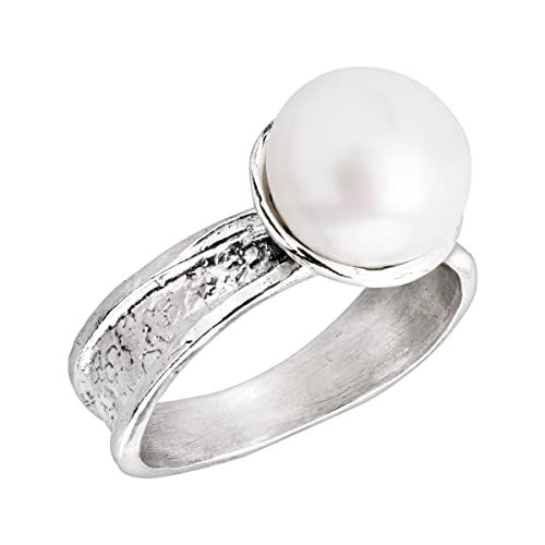 Silpada Simply You 10 mm Freshwater Cultured Pearl Ring in Sterling Silver