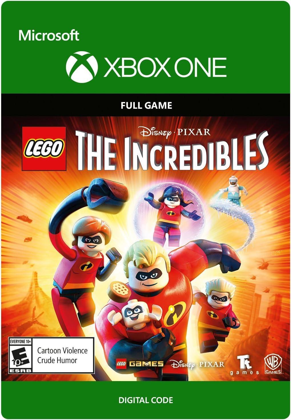 Amazoncom Lego Disney Pixars The Incredibles Ps4 Playstation 4