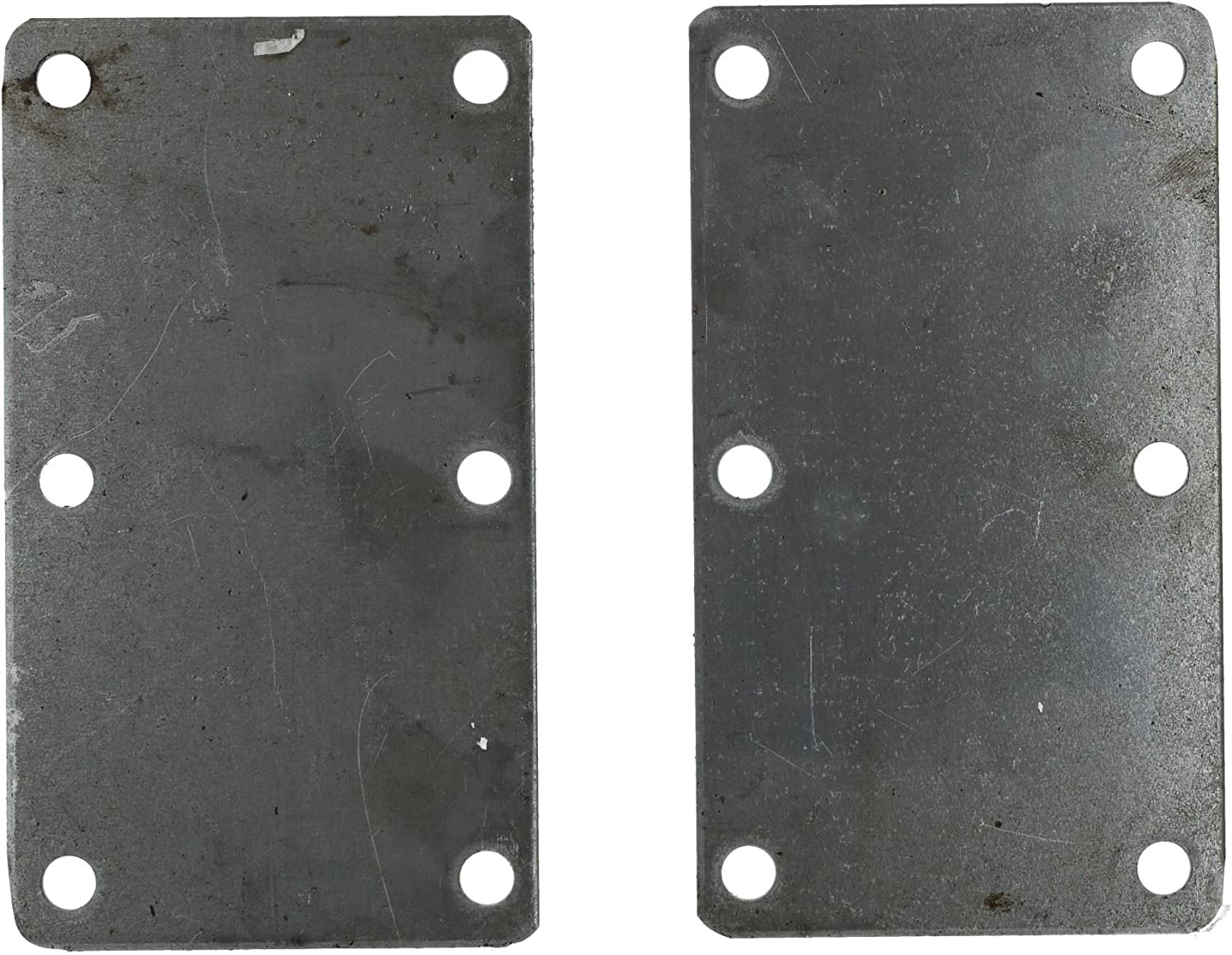 AB Tools 350KG /& 500KG Mounting Plate Pair Suspension Welding On Plate 6 Hole