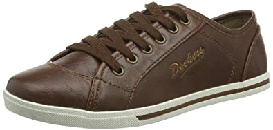 new style af2f5 347d3 Dockers by Gerli Damen 27CH247-610 Sneakers Braun (reh 410 ...