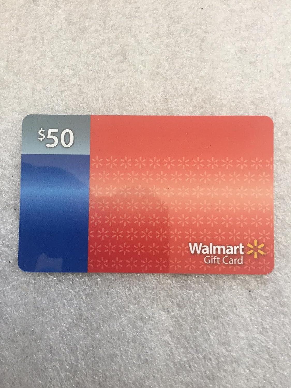 Amazon.com : Walmart Giftcard $50 : Everything Else