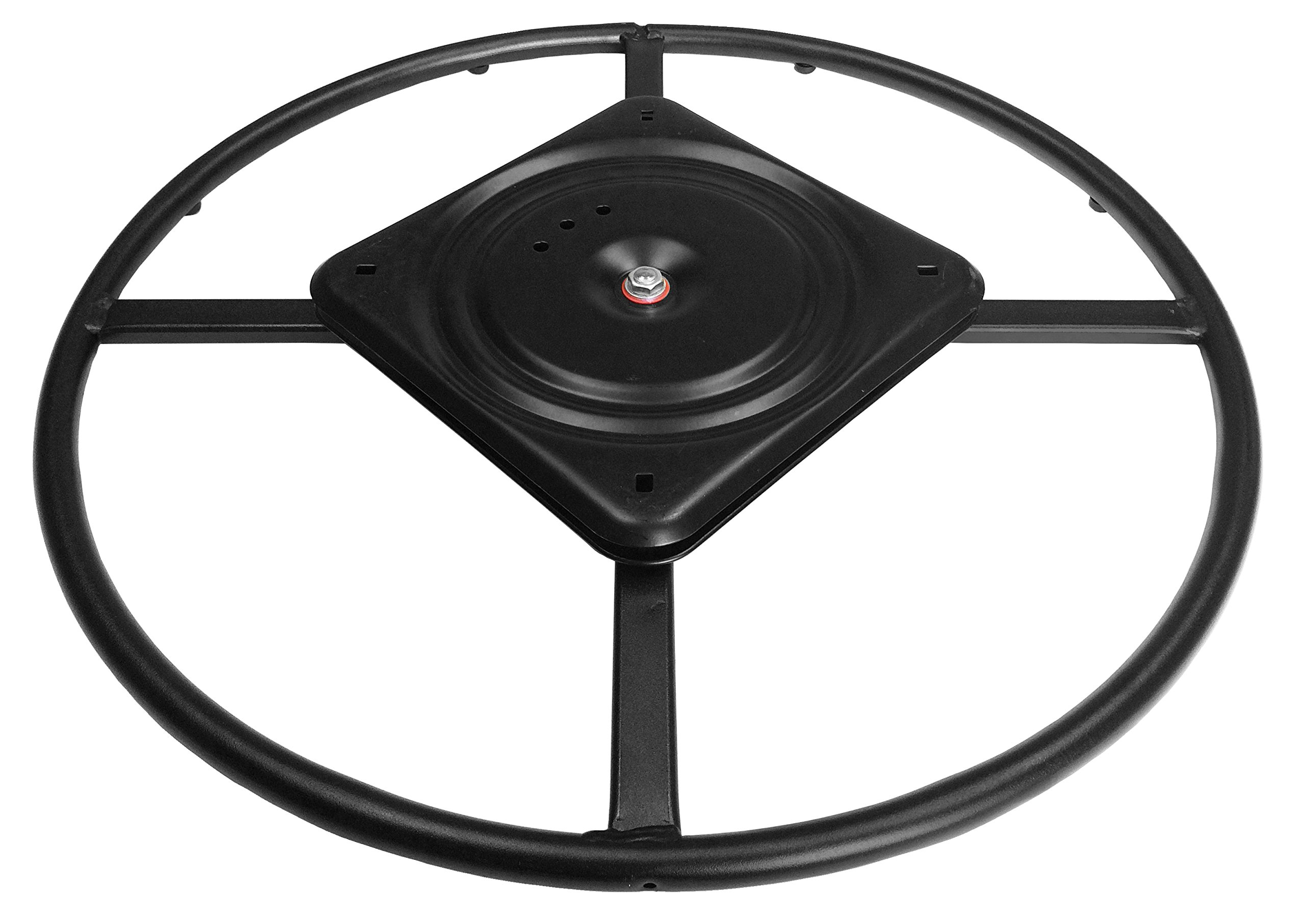 chairpartsonline 22'' Replacement Ring Base w/Swivel for Recliner Chairs & Furniture, Includes Swivel - S5469-A